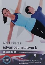 APPI Pilates DVD Advanced Matwork Exercise Workout Posture Core Strength Gym NHS