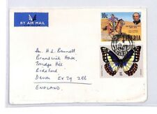 BQ248 Liberia Devon Great Britain Airmail Cover {samwells}PTS