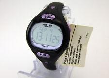 Timex Women's T5K187 Ironman Pulse Calculator Black Resin Strap Watch