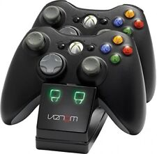 Venom Xbox 360 Gaming Twin Docking Charging Station 2X Rechargeable Battery Pack