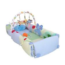 Baby portable crib bed folding bed cotton soft game bed Easy to carry