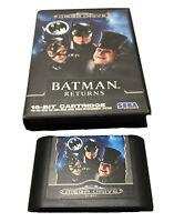 Batman Returns Jeu SEGA Mega Drive 1992 / Pochette + Cartouche 16-Bit / Retro