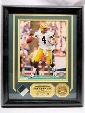 BRETT FAVRE, Green Bay Packers, GAME USED JERSEY PHOTOMINT, Ltd Ed/300