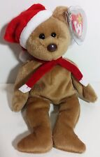 "TY Beanie Babies ""1997 HOLIDAY TEDDY"" Christmas Bear - MWMT! RETIRED! GREAT GIFT"