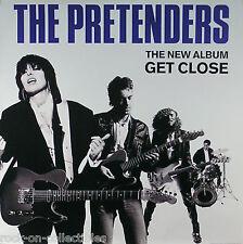 Pretenders 1986 Get Close Original Promo Poster