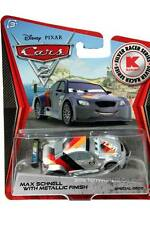 2012 Disney Cars 2 Metallic Finish Silver Racer Series Max Schnell KMART