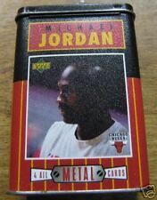 UPPER DECK MICHAEL JORDAN ALL-METAL COLLECTOR CARDS-4