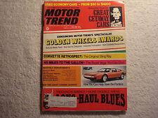 Motor Trend 1974 May Pantera Bronco Blazer Jeep Cherokee & CJ-5 Land Cruiser