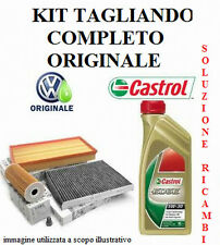 KIT TAGLIANDO FILTRI + OLIO ORIGINALE AUDI A3 II 2.0 TDI dal 05/2003 al 09/2009