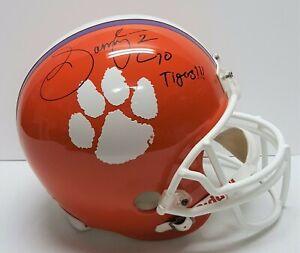 Sammy Watkins Signed Clemson Tigers Full Size FS Helmet JSA 27198 SS3985 Ravens