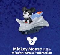 2020 McDONALD'S Disney Mickey Minnie's Runaway Railway Happy Meal Toy Space #2