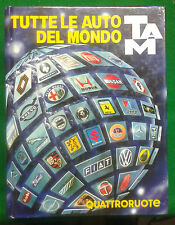 TAM - TUTTE LE AUTO DEL MONDO  1985 + FASCICOLO AGG.  - ED. DOMUS/QUATTRORUOTE
