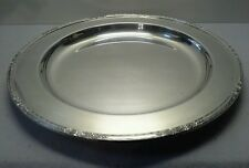"VINTAGE International Silver ""Camille"" 14"" Round Silver Plated Platter"