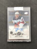 2018-19 UPPER DECK CLEAR CUT BRETT SENEY ROOKIE AUTOGRAPH AUTO SILVER #CCR-BS