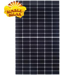495W JA Solar Mono Half Cell Panels - High Power Mono PERC - Silver Frame