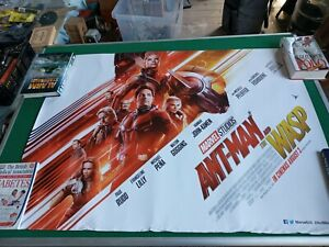 """Ant-man and the Wasp movie UK quad poster ORIGINAL D/S full size Marvel 40 x 30"""""""