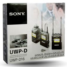 Sony - UWPD16/14 - Digital Plug-On & Lavalier Combo Wireless Microphone System