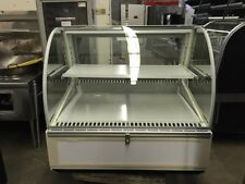 "Federal SN-4CD - Series 90 48"" Refrigerated Curved Glass Deli Case - Refurbished"