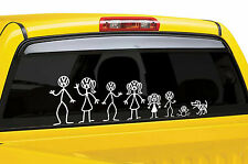 Stick Family Camper DUB DUBBER Sticker Decal Car Van Motorhome