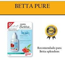 Betta PURE Acondicionador 25 ml MARINA calidad acuario pecera agua