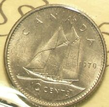 1970 Canada 10 Cents ICCS MS 66 #5222