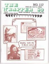 THE WRAPPER #117 - 1993 Non-sports card fanzine, Hot Rods, Tobacco Cards, Marvel