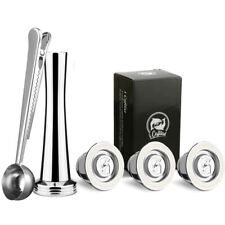 Stainless Steel I Cafilas Reusable Refillable Coffee Capsule Pod For Nespresso