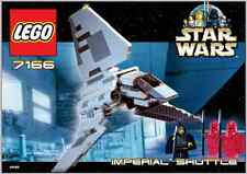 INSTRUCTIONS ONLY LEGO IMPERIAL SHUTTLE 7166 Star Wars manual book from set
