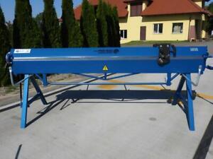 Abkantbank 2640mm + Rollenschere / Biegemaschine / Abkantmaschine / Kantbank