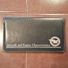 Pratt & Whitney Aircraft & Engine Characteristics Handbook Manual