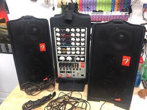 Fender Passport PD-250 Portable PA System