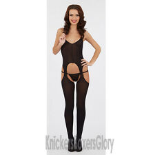 Sexy Lingerie Bodystocking/Body Stocking/Catsuit Size 10,12,14 Black, White NEW