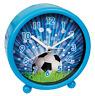 Wecker Fußball blau - bb-Klostermann 54018 - Motiv Uhr Quarz