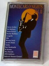 VARIOUS - MONTECARLO NIGHTS VOL.II - Musicassetta Cassette Tape Sealed MC K7