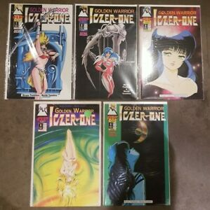 Golden Warrior Iczer-One (1994) #s 1 2 3 4 5 - Set lot of 5 Manga