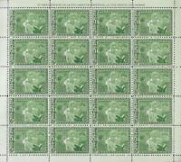 1962 Republic De Guinee - Eleanor Roosevelt - 5F -  MNH OG - Full Sheet  (CG81)