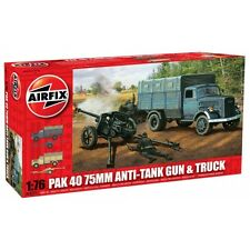 * Airfix Kit A02315 PAK40 75mm Anti-Tank Gun & Truck 1:76 Scale