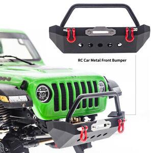 Metal Front Bumper For 1/10 RC TRX4 Axial SCX10 & SCX10 II 90046 90047 AXI03007