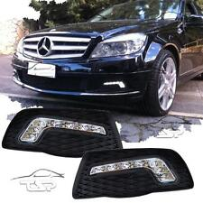 FRONT RUNNING LED LIGHTS DRL FOR MERCEDES W204 07-11 DAYLIGHT GRILL