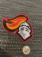 "RUTGERS University Scarlet Knights Embroidered Iron  On Patch 3"" X 2.5"""