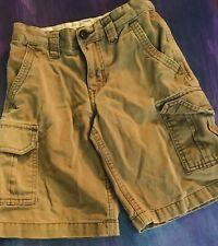 Boys Khaki Old Navy Shorts Size 7 Perfect For School Uniform