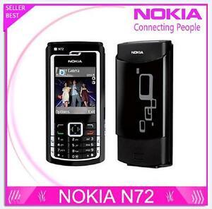 Nokia N72 2G GSM FM Radio 2MP Camera Bluetooth Jave Original Mobile Phone