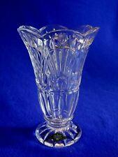 "Shannon 24% Lead Crystal FREEDOM Design Vase 8""  by Godinger Silver"