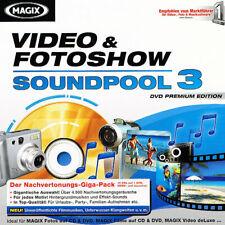 MAGIX / Soundpool 3 / Video & Fotoshow 3 / Musik & Geräusche