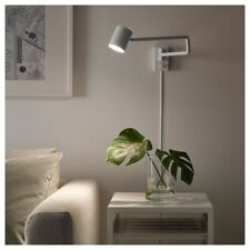NIB! IKEA NYMANE Work/Wall Lamp with Adjustable Arm Modern White