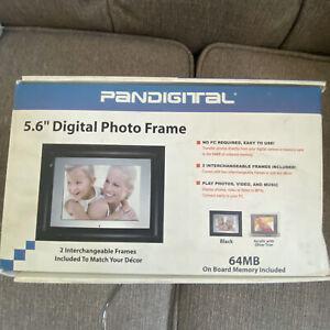 """Pandigital 5.6"""" Tru photo digital picture frame"""