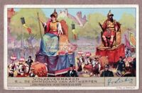 Ommegang Festival Antwerp Belgium 70+ Y/O Trade Ad  Card m