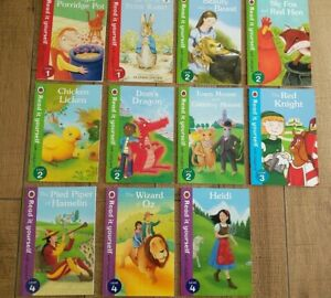 Read it Yourself With Ladybird Books Bundle Levels 1, 2, 3, 4