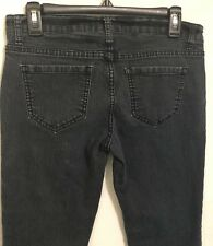 Forever 21 Junior Womens Jeans Skinny Stretch Blue Denim Low Rise Size 28 EUC