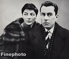 1959 Vintage 8x10 BERNARD ANNABEL BUFFET France Artist Photo Art RICHARD AVEDON